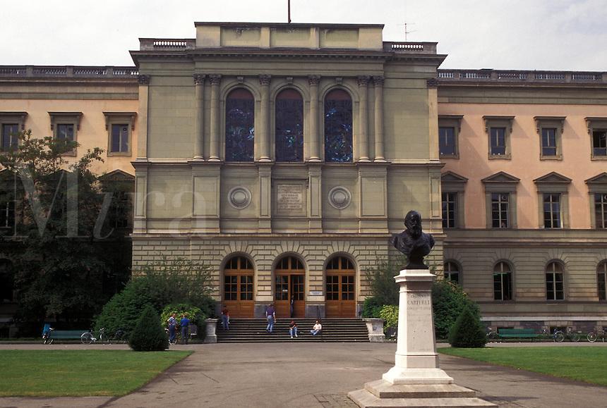 university, Geneva, Switzerland, University of Geneva in the city of Geneva.