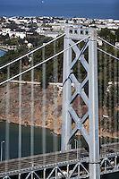 aerial photograph Bay Bridge Treasure Island San Francisco
