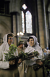 Grovely Forest Rights, Great Wishford Wishford magna Wiltshire UK. May 29th annually. Salisbury Cathedral. 1971