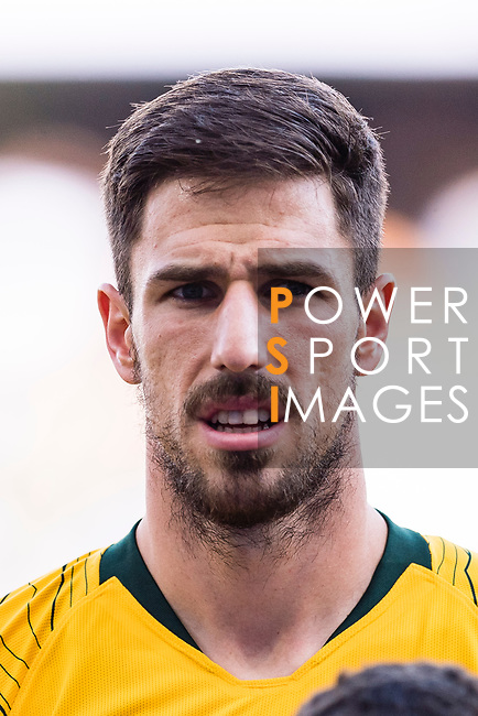 Milos Degenek of Australia is seen prior to the AFC Asian Cup UAE 2019 Group B match between Australia (AUS) and Jordan (JOR) at Hazza Bin Zayed Stadium on 06 January 2019 in Al Ain, United Arab Emirates. Photo by Marcio Rodrigo Machado / Power Sport Images