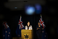 Prime Minister Jacinda Ardern. The New Zealand government holds its first cabinet meeting at Parliament in Wellington, New Zealand on Friday, November 6, 2020. Photo: Dave Lintott / lintottphoto.co.nz