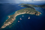 British Virgin Islands, Norman Island: considered the island Robert Louis Stevenson based his novel Treasure Island on. Virgin Island Archepelago, Caribbean Sea,