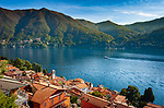 Italy, Lombardia, Carate Urio: village on the West Banks of Lake Como with church Santi Quirico e Giulitta   Italien, Lombardei, Carate Urio: kleine Gemeinde am Westufer des Comersees mit der Kirche Santi Quirico e Giulitta
