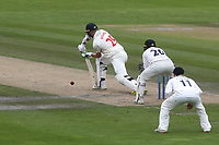James Weighell of Glamorgan in batting action during Sussex CCC vs Glamorgan CCC, LV Insurance County Championship Group 3 Cricket at The 1st Central County Ground on 5th July 2021
