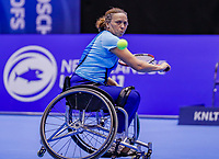 Rotterdam, Netherlands, December 13, 2017, Topsportcentrum, Ned. Loterij NK Tennis, Wheelchair Maaike Derks-Snellenberg (NED)<br /> Photo: Tennisimages/Henk Koster
