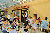 The popular breakfast cafe chain un Kaya Toast in Singapore.