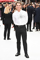 """AJ Pritchard<br /> at the World Premiere of  """"King of Thieves"""", Vue Cinema Leicester Square, London<br /> <br /> ©Ash Knotek  D3429  12/09/2018"""