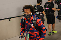 LAS VEGAS, NV - AUGUST 1: Gianluca Busio #6 of the United States before a game between Mexico and USMNT at Allegiant Stadium on August 1, 2021 in Las Vegas, Nevada.