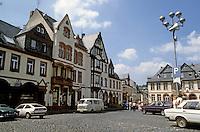 Weilburg: Marktplatz--Baroque facades.