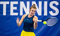 Amstelveen, Netherlands, 14  December, 2020, National Tennis Center, NTC, NK Indoor, National  Indoor Tennis Championships, Qualifying:  Isabelle Haverlag (NED) <br /> Photo: Henk Koster/tennisimages.com