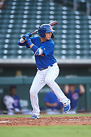 AZL Cubs 1 Carlos Pacheco (29) at bat during an Arizona League game against the AZL D-backs on July 25, 2019 at Sloan Park in Mesa, Arizona. The AZL D-backs defeated the AZL Cubs 1 3-2. (Zachary Lucy/Four Seam Images)