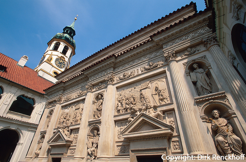 Tschechien, Prag, Loretto-Kirche, Casa Santa, Unesco-Weltkulturerbe