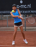 August 6, 2014, Netherlands, Rotterdam, TV Victoria, Tennis, National Junior Championships, NJK,  Demi Tran (NED)<br /> Photo: Tennisimages/Henk Koster