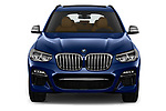 Car photography straight front view of a 2019 BMW X3 M40i 5 Door SUV