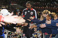DC United  forward Ange N'silu (9) during the presentation of the team  Chicago Fire tied DC United 1-1 at  RFK Stadium, Saturday March 28, 2009.