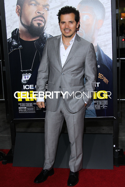 """HOLLYWOOD, CA - JANUARY 13: John Leguizamo at the Los Angeles Premiere Of Universal Pictures' """"Ride Along"""" held at the TCL Chinese Theatre on January 13, 2014 in Hollywood, California. (Photo by David Acosta/Celebrity Monitor)"""