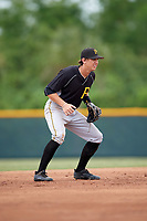 Pittsburgh Pirates shortstop Robbie Glendinning (10) during an Instructional League intrasquad black and gold game on October 6, 2017 at Pirate City in Bradenton, Florida.  (Mike Janes/Four Seam Images)