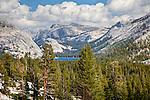 Tenaya Lake on the Tioga Road, Yosemite National Park, CA, USA