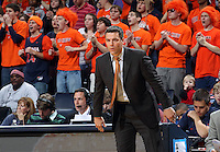 Dec. 07, 2010; Charlottesville, VA, USA;  Virginia Cavaliers head coach Tony Bennet watches a play during the game against the Radford Highlanders at the John Paul Jones Arena. Mandatory Credit: Andrew Shurtleff