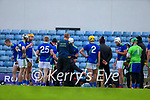 The Kerry team during the Round 1 meeting of Kerry and Meath in the Joe McDonagh Cup at Austin Stack Park in Tralee on Sunday.