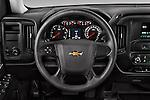 Car pictures of steering wheel view of a 2016 Chevrolet Silverado 1500 LS 4 Door Pickup Steering Wheel