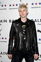 LOS ANGELES - NOV 21:  Machine Gun Kelly at the 'PUMA x Balmain- created with Cara Delevingne' LA Launch Event at the Milk Studios on November 21, 2019 in Los Angeles, CA