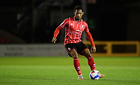 Lincoln City's Tayo Edun<br /> <br /> Photographer Chris Vaughan/CameraSport<br /> <br /> EFL Papa John's Trophy - Northern Section - Group E - Lincoln City v Manchester City U21 - Tuesday 17th November 2020 - LNER Stadium - Lincoln<br />  <br /> World Copyright © 2020 CameraSport. All rights reserved. 43 Linden Ave. Countesthorpe. Leicester. England. LE8 5PG - Tel: +44 (0) 116 277 4147 - admin@camerasport.com - www.camerasport.com