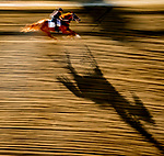 May 13, 2021: Scenes from morning workouts at Pimlico Race Course in Baltimore, Maryland. Scott Serio/Eclipse Sportswire/CSM