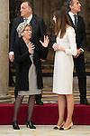 Garbage Muguruza's mum and Ruth Beitia attends to the National Sports Awards 2015 at El Pardo Palace in Madrid, Spain. January 23, 2017. (ALTERPHOTOS/BorjaB.Hojas)