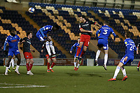 Tom Parkes of Exeter City goes close during Colchester United vs Exeter City, Sky Bet EFL League 2 Football at the JobServe Community Stadium on 23rd February 2021