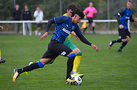 Haris Zeb during the Central League football match between Miramar Rangers and Lower Hutt AFC at David Farrington Park in Wellington, New Zealand on Saturday, 10 April 2021. Photo: Dave Lintott / lintottphoto.co.nz