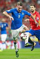 Italy's Andrea Belotti during FIFA World Cup 2018 Qualifying Round match. September 2,2017.(ALTERPHOTOS/Acero)