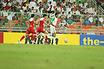Al Ahli (KSA) vs Tractorsazi Tabriz during the 2015 AFC Champions League Group D match on March 18, 2015 at the King Abdullah Stadium in Jeddah, Saudi Arabia. Photo by Adnan Hajj / World Sport Group