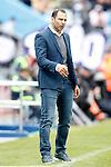 Getafe's coach Juan Eduardo Esnaider during La Liga match. April 16,2016. (ALTERPHOTOS/Acero)