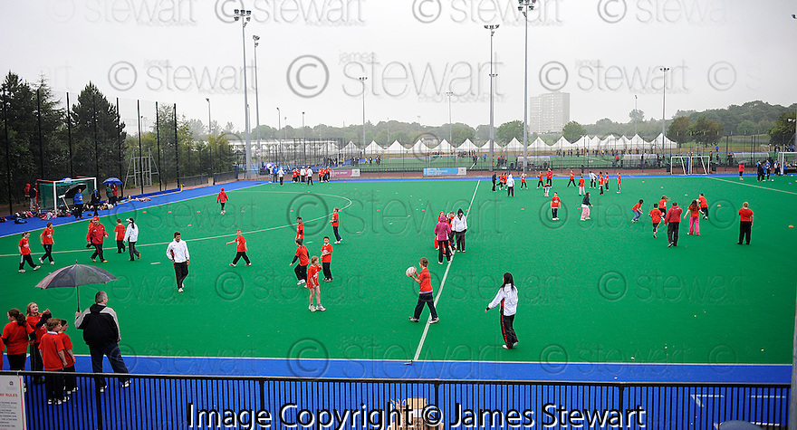 GENERAL VIEW OF THE TOUCH WORLD CUP YOUTH FESTIVAL AT PEFFERMILL.