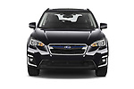 Car photography straight front view of a 2020 Subaru XV-boxer Premium 5 Door SUV Front View