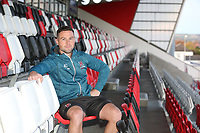 Monday 28th October 2019 | Ulster Rugby Match Briefing<br /> <br /> John Cooney at the Match Briefing ahead of Ulster's PRO14 Round 5 clash against Zebre at Kingspan Stadium, Ravenhill Park, Belfast, Northern Ireland. Photo by John Dickson / DICKSONDIGITAL