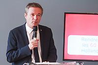 CONFERENCE DE PRESSE DE PRESENTATION DU CHIFFRAGE DU PROJET PRESIDENTIEL DE NICOLAS DUPONT-AIGNAN