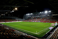 General view of Brentford Community Stadium ahead of kick-off during Brentford vs Luton Town, Sky Bet EFL Championship Football at the Brentford Community Stadium on 20th January 2021