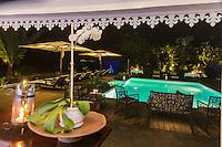 France, île de la Réunion, Saint-Leu, restaurant: Blue Margouillat, // France, Reunion island (French overseas department), Saint Leu, restaurant: Blue Margouillat,