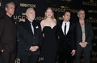 """October 12, 2021.Alan Ruck, Brian Cox, Sarah Snook, Kieran Culkin, Jeremy Strong attend HBO's """"Succession"""" Season 3 Premiere at the  American Museum of Natural History in New York October 12, 2021 Credit: RW/MediaPunch"""