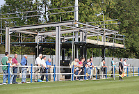 A new stand under construction at Takeley FC - Takeley vs Romford - Essex Senior League at Station Road - 20/09/08 - MANDATORY CREDIT: Gavin Ellis/TGSPHOTO - Self billing applies where appropriate - 0845 094 6026 - contact@tgsphoto.co.uk - NO UNPAID USE.
