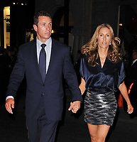 NEW YORK - SEPTEMBER 09:  Chris Cuomo and wife Cristina Cuomo at the reopening of the CHANEL SoHo Boutique at the Chanel Boutique Soho on September 9, 2010 in New York City. <br />