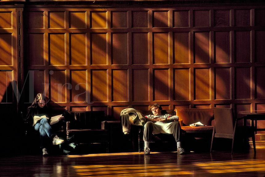 Sleeping at Cornell University