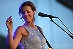 Sarah McLachlan performs at Harveys Lake Tahoe Outdoor Arena in Stateline, Nev., on Tuesday, June 24, 2014.<br /> Photo by Cathleen Allison/Nevada Photo Source