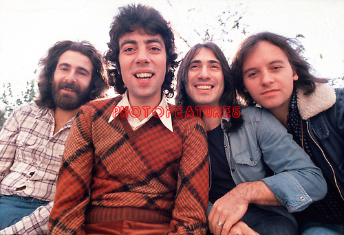 10cc 1973 Kevin Godley, Graham Gouldman, Lol Creme and Eric Stewart<br /> © Chris Walter