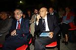 GIULIANO AMATO CON SABINO CASSESE<br /> PREMIO LETTERARIO CAPALBIO 2002