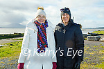 Enjoying a stroll in Lohercannon on Thursday, l to r: Ger and Eimear Madden.