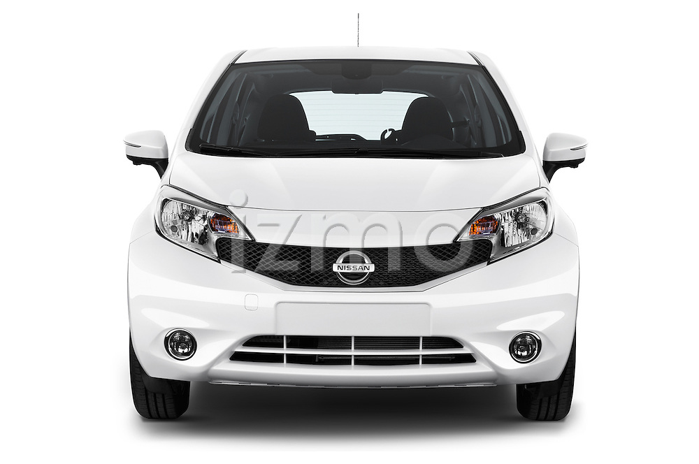 Straight front view of a 2013 Nissan NOTE 5 Door Hatchback 2WD