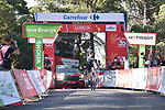 Michael Storer (AUS) Team DSM from the breakaway wins Stage 7 of La Vuelta d'Espana 2021, running 152km from Gandia to Balcon de Alicante, Spain. 20th August 2021.     <br /> Picture: Cxcling | Cyclefile<br /> <br /> All photos usage must carry mandatory copyright credit (© Cyclefile | Cxcling)